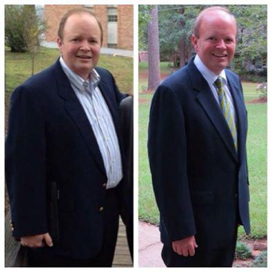 Pastor Scott Thomas ~ 56 lbs lighter using Arbonne Nutrition